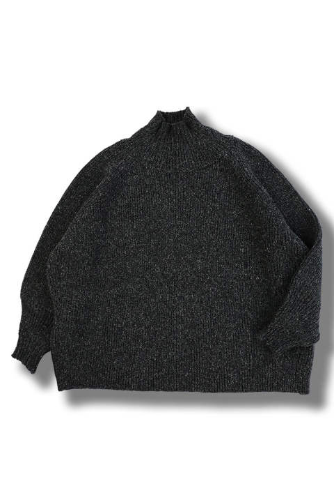 KNIT#47 (BLACK MERICHAN)