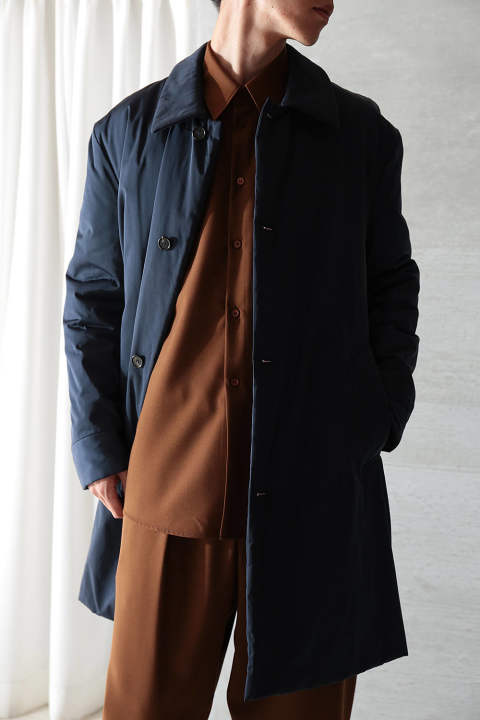 【ラスト1点】NYLON TWILL COAT(BLUE NAVY)