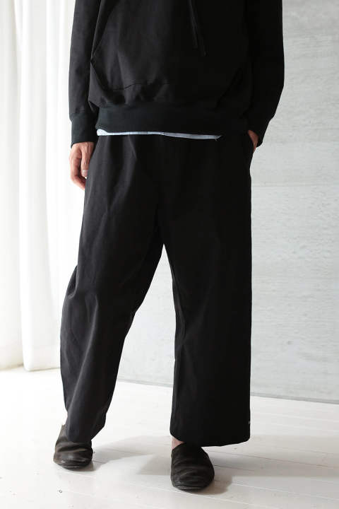 【ラスト1点】CRISPY SWEAT PANTS(BLACK)