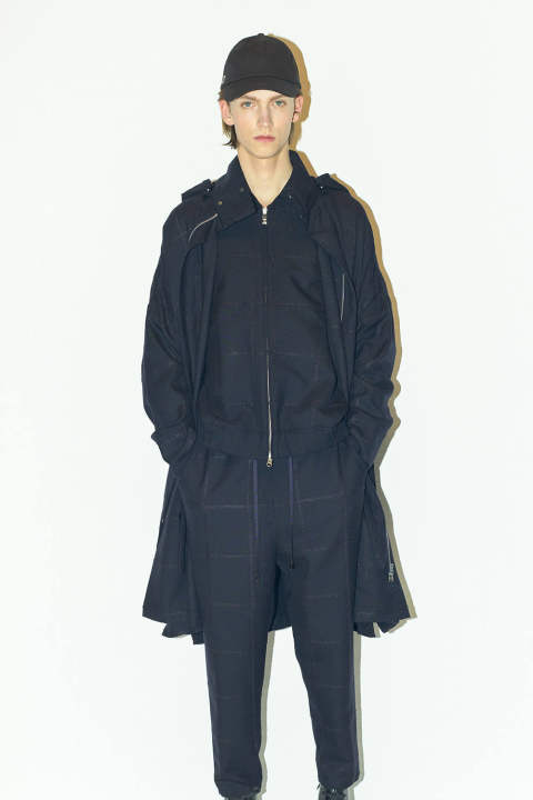 【ラスト1点】BALLOON COAT(NAVY)