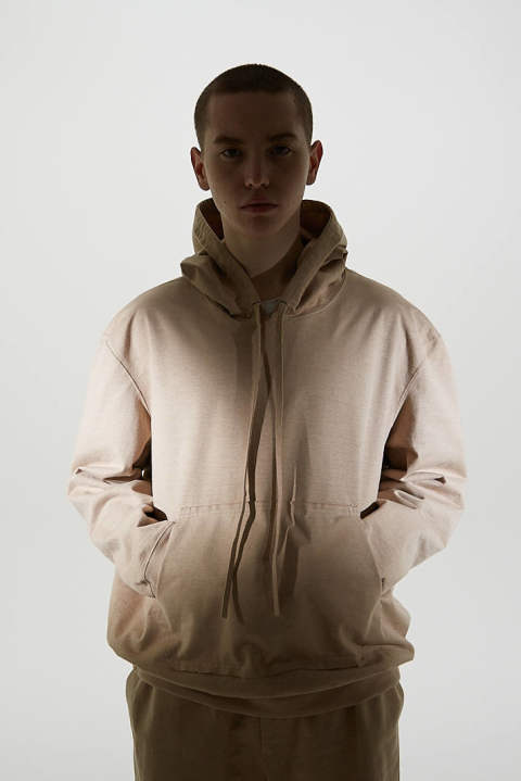 【ラスト1点】CRISPY SWEAT PARKA(BEIGE)