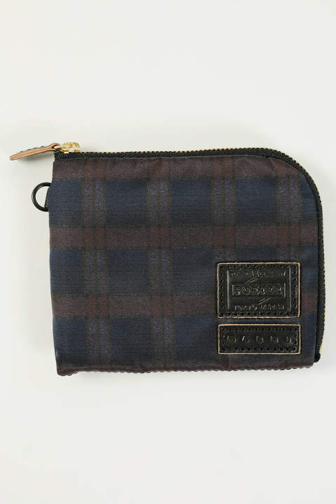 ZIP WALLET(NAVY)