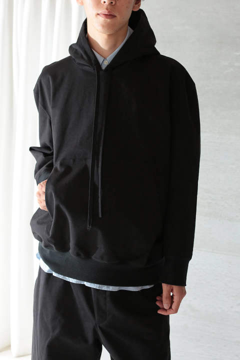 CRISPY SWEAT PARKA(BLACK)