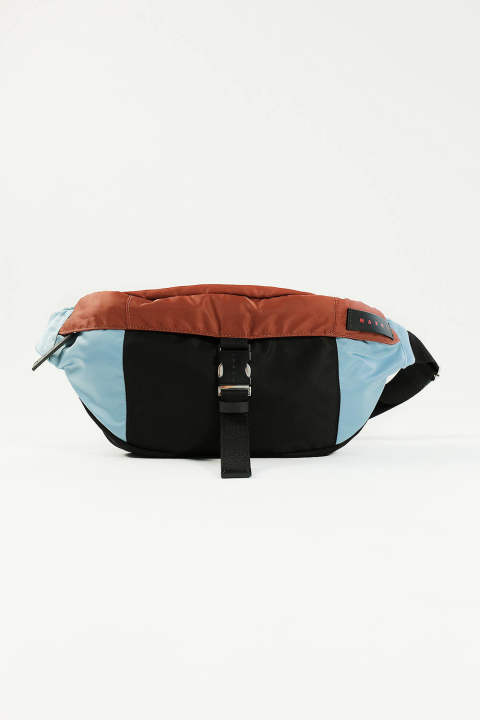 NYLON BELT BAG(LAKE/RUST/BLACK)