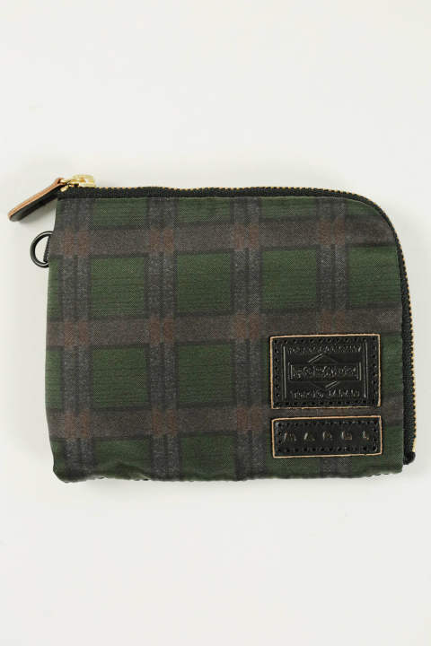 ZIP WALLET(GREEN)