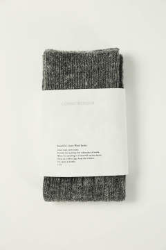 BEAUTIFUL LINEN WOOL SOCKS(GRAY)