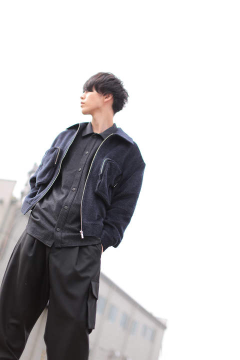 【ラスト1点】UTILITY SHORT JACKET(NAVY)