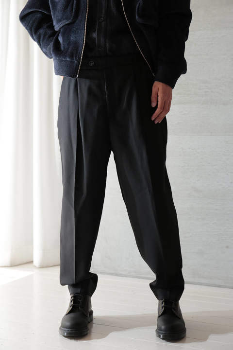 "【ラスト1点】NEO TROUSERS ""AMPLE""(BLACK)"