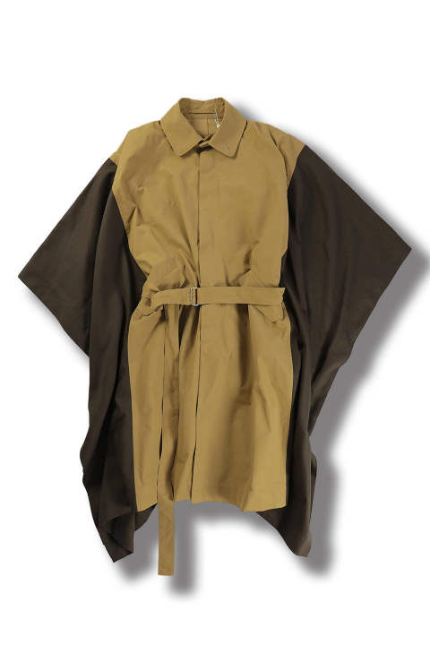 CAPE (BEIGE/BROWN)