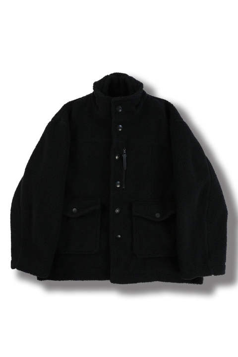 BOA FLEECE BLOUSON(BLACK)