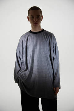 RAYON WOOL PULLOVER SHIRTS(GREY)