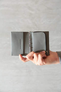 "MINI WALLET""BUND""(GRAY)"