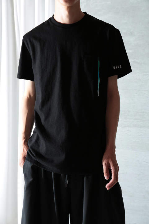 【20SS】IDA T-SHIRT/FRONT STYLE(BLACK)