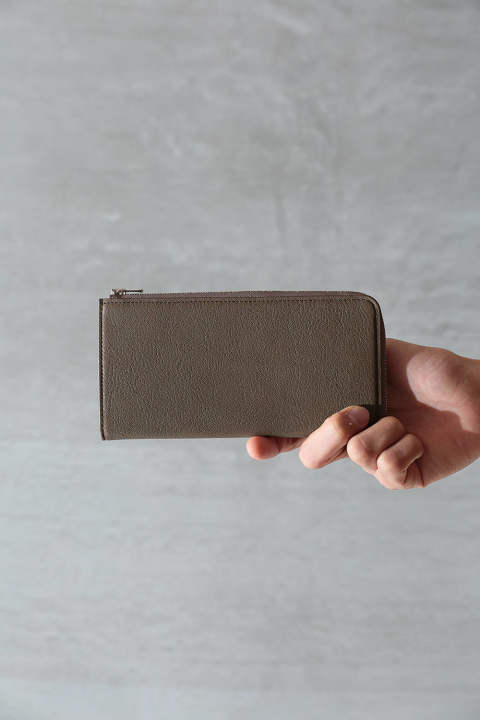 【ラスト1点/SENTI】L ZIP LONG WALLET(GREGE)