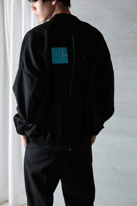 【20SS/ラスト1点】BALLOON BLOUSON -IDA-(BLACK)