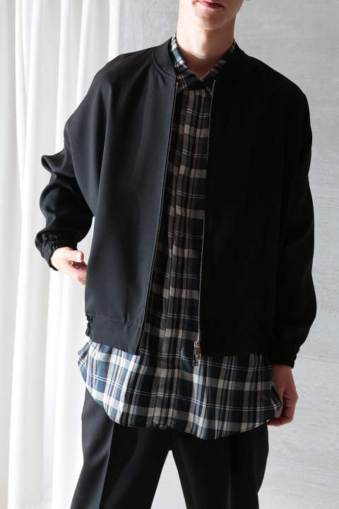 【20SS/ラスト1点】BALLOON BLOUSON(BLACK)