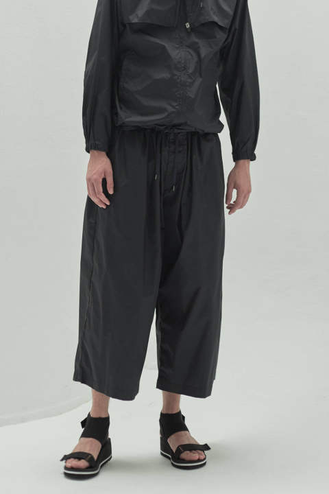 【20SS】WIDE GATHERED PANTS(NAVY)