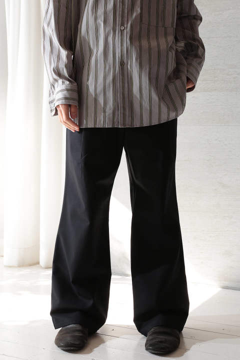 【ラスト1点】WIDE PANTS(BLACK/EH40P-03/05)