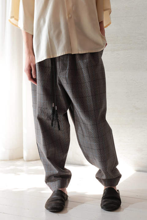 CORD PANTS(PLAID/EH40P-05/03)