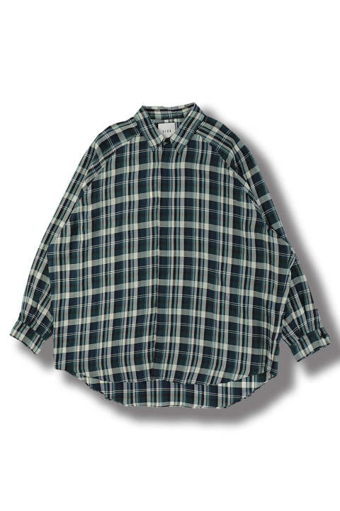 BALLOON CHECK SHIRT(CHECK)