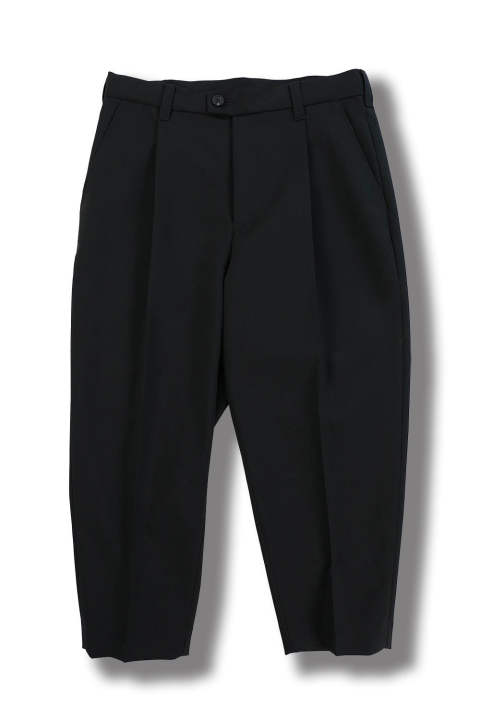 IDA CROPPED PANTS WITH STRING ADJUST(BLACK)