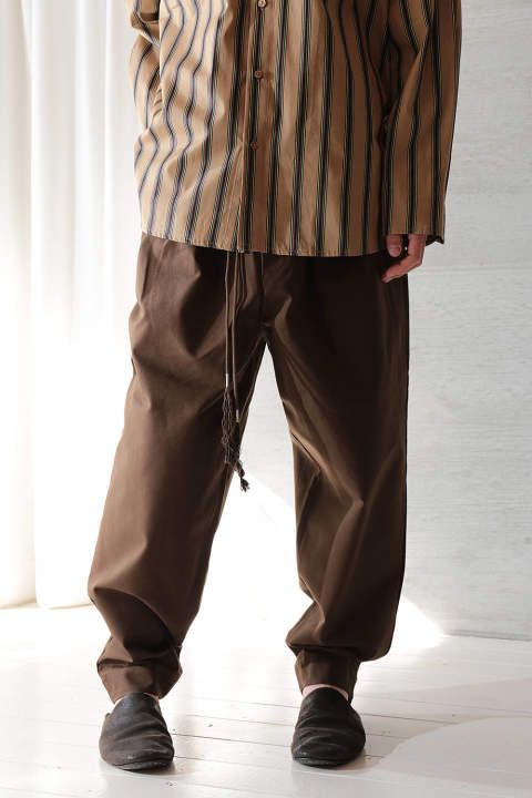 CORD PANTS(BROWN/EH40P-05/07)
