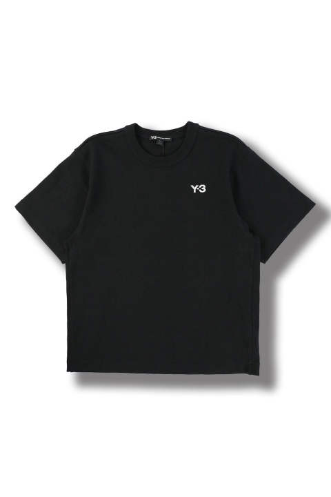 M HAEVY COMPACT JERSEY SS TEE(BLACK)