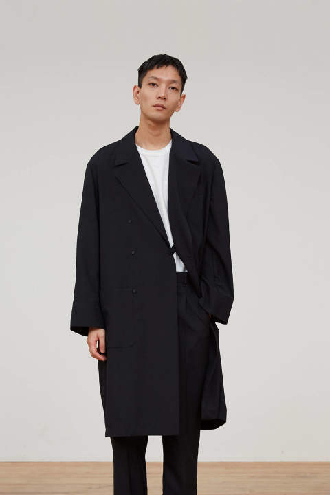 UN(I)FORM-DOUBLE COAT(NAVY)
