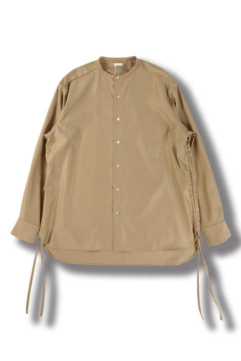 【ラスト1点】OVERSIZED STRING SHIRTS(CAMEL)