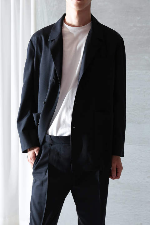 【ラスト1点】UN(I)FORM-SEMI DOUBLE JACKET(NAVY)