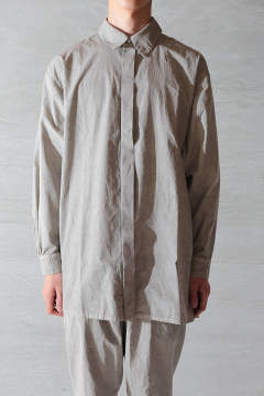 【ラスト1点】BEAUTIFUL ORGANIC COTTON SHIRT(LIGHT SUMIKURO)
