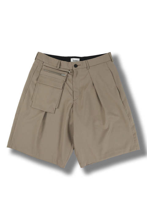 UTILITY SHORT(TAUPE)