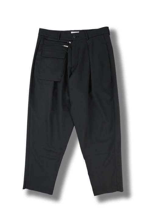 UTILITY TROUSERS(BLACK)