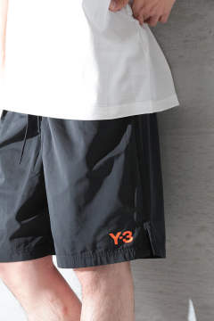 M LOGO SWIM SHORTS ML(BLACK)