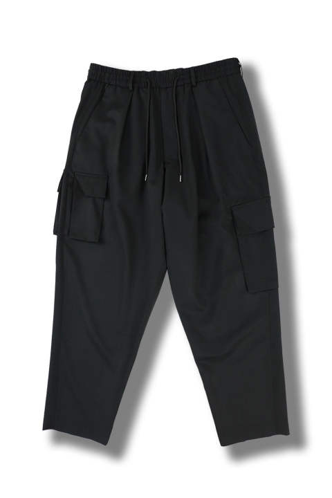 COMBAT CARGO TROUSERS(BLACK)