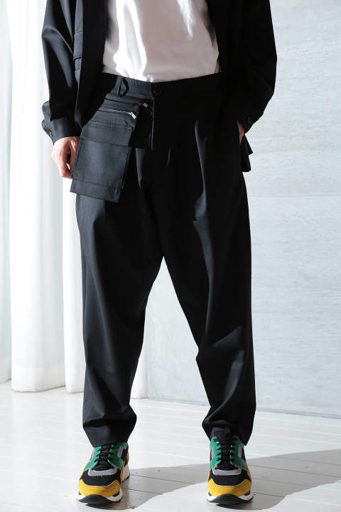 【ラスト1点】UTILITY TROUSERS(BLACK)