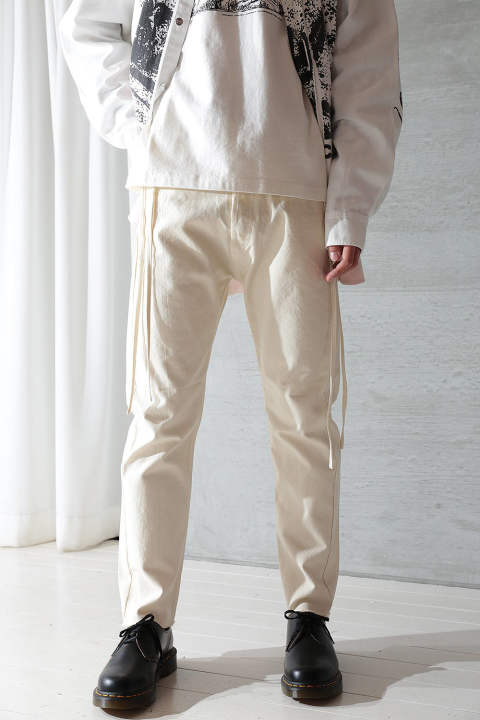 KARATE PANTS CANVAS(OFF WHITE)