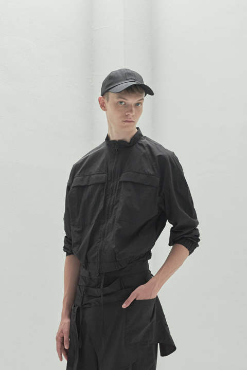 【ラスト1点】DOUBLE POCKET BLOUSON(BLACK)