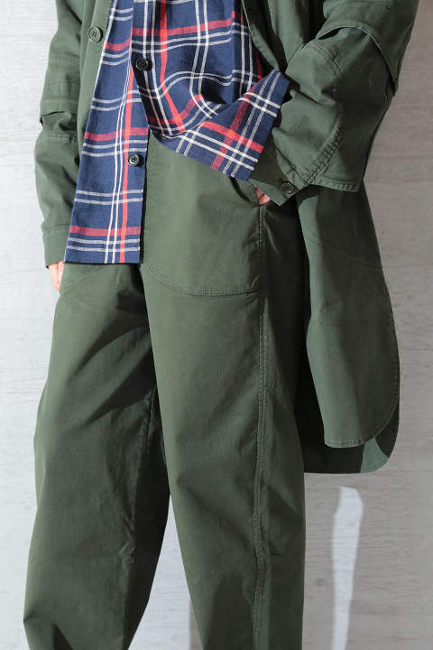 【再入荷】TANOI TROUSER(SWAMP GREEN)