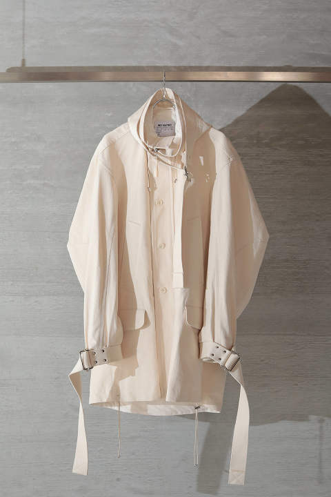 PARKA(ECRU COTTON)