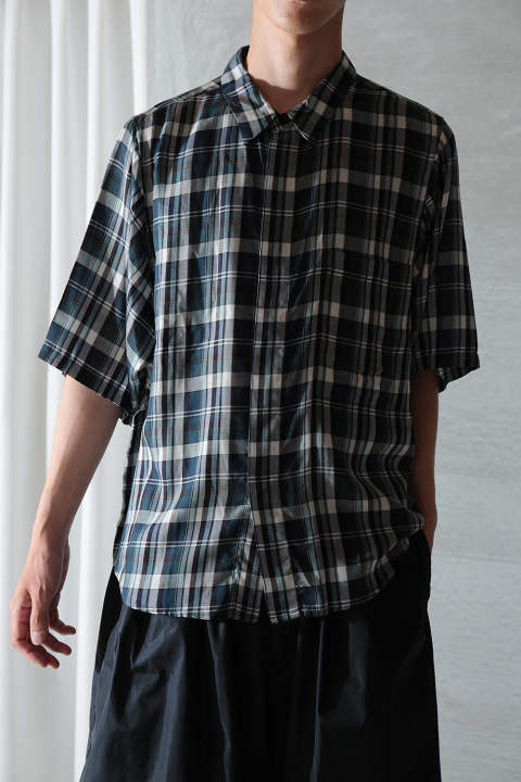 BIG POCKET CHECK SHIRT(CHECK)