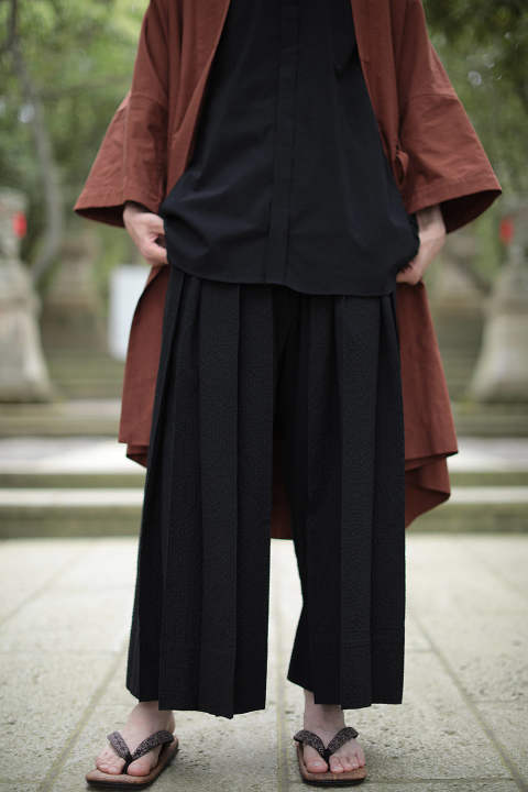 【ラスト1点】TROUSERS #56(BLACK)