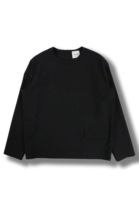 【ラスト1点】PULLOVER LONG SLEEVES TOP(BLACK)