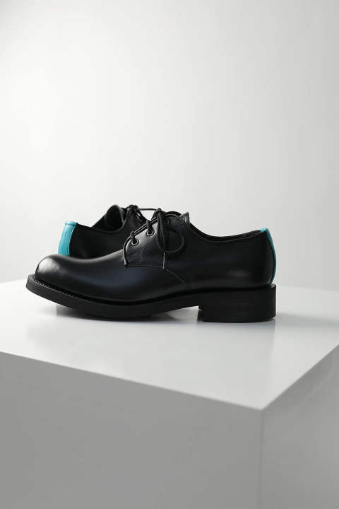 LEATHER SHOES(BLACK)