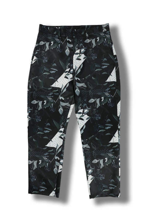 5 POCKET PRINT PANTS(BLACK)