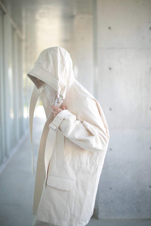 【ラスト1点】PARKA(ECRU COTTON)
